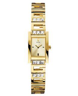 GUESS Watch, Womens Gold Tone G Shape Link Bracelet 22x19mm U95170L1