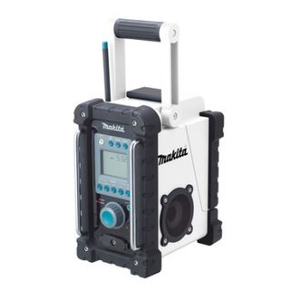 Makita 18V Cordless LXT Lithium ion FM Am Job Site Radio with  Jack