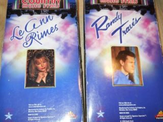 Collectible Dolls Country Music Stars Randy Travis Leann Rimes