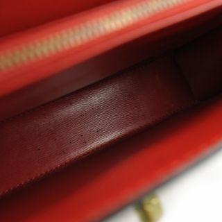 Louis Vuitton Epi Malesherbes Bag Handbag Purse Red