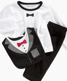 First Impressions Baby Set, Baby Boys 3 Piece Top and Pant Set