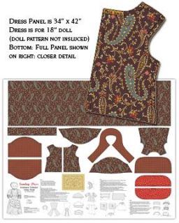 Americana Collection Fabric Doll Kit Benartex Fabrics
