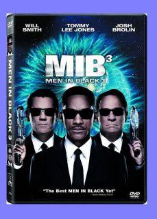 Men in Black 3 DVD 2012 Free First Class Shipping