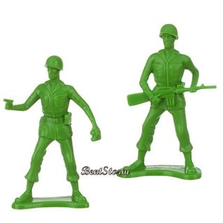 New  Toy Story Bucket O Soldiers Green Army Men 75pc