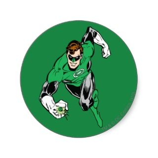 Green Lantern Fly Forward Sticker