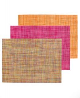 Chilewich Table Linens, Engineered Squares Vinyl Placemat   Table