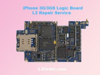 Apple iPhone 3G 3GS A1241 A1303 A1324 A1325 Logic Board Repair Service