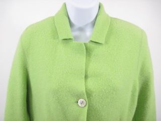 Bruno Manetti Lime Green Wool Blazer Jacket