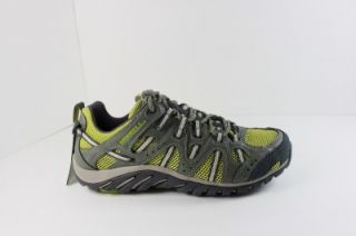 New Merrell Waterpro Manistee Womens Olive Hiking Trail Shoe Sneaker