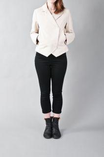 Maison Martin Margiela MM6 Womens Double Breasted Short Jacket Sz 40