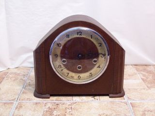 Deco Style Vintage Westminster Chime Mantle Clock