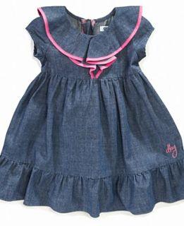 kids dress little girls denim shirtdress orig $ 44 50 24 99