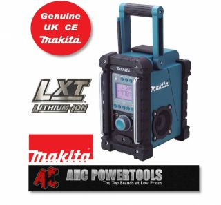 Makita BMR100 Jobsite Radio iPod  Aux UK CE New