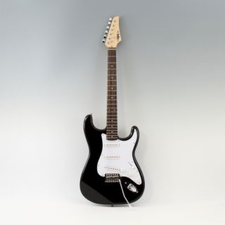Brand New Legacy Solid Body Electric Guitar in Black Finish