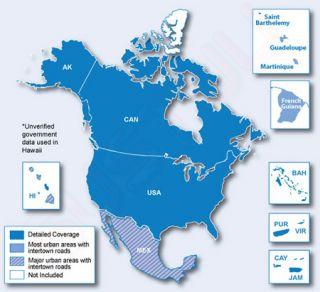 Lifetime North America USA Canada Maps Update 010 11269 00 New