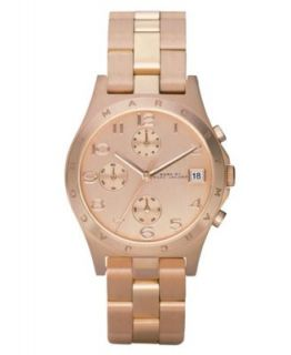 Marc by Marc Jacobs Watch, Womens Mini Amy Rose Gold Tone Stainless