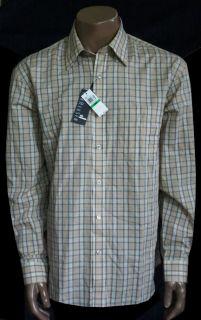 New Van Heusen No Iron Casual Dress Shirt Mens All Sizes Taupe $50