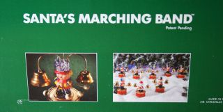 Mr Christmas 1991 Santas Marching Band Musical Bells New Never Out of