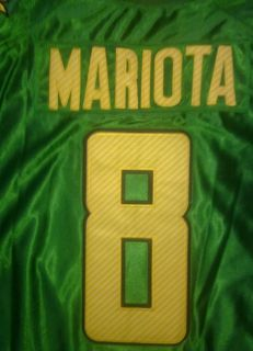Marcus Mariota Oregon Ducks 2012 Green 8 Nike Football Jersey