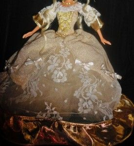 Queen Marie Antoinette of France Golden Version OOAK Barbie Doll