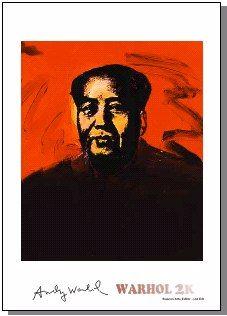 Andy Warhol Mao Tse Tung Print Limited Edition