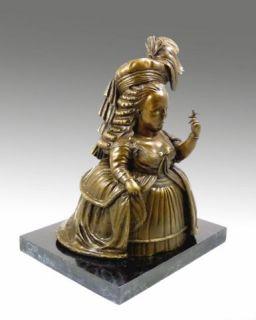 Modern Art Bronze Marie Antoinette Signed Botero