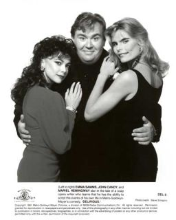 Delirious 1991 Press Kit John Candy Mariel Hemingway