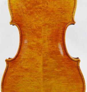 Del Gesu 1743 Cannon Violin & Top end Tone & Special Plain Cut Maple