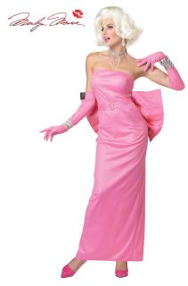 Marilyn Monroe Pink Diamonds Dress Costume Adult New