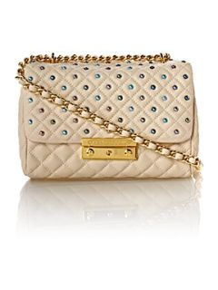 Moschino Cheap & Chic Sweet stud quilted shoudler bag