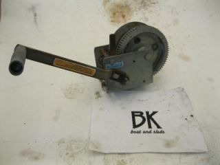 DL Marine Boat Trailer Crank Winch Lock Used DL1700