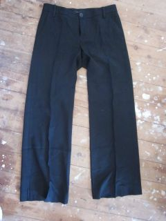Marc by Marc Jacobs Black Straight Leg Pants Size 6