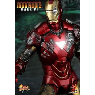 Hot Toys Iron Man 2 Ironman Mark VI 12 Figure in Stock