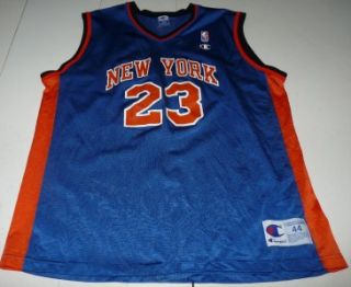 Vintage Champion Marcus Camby New York Knicks NBA Basketball Jersey