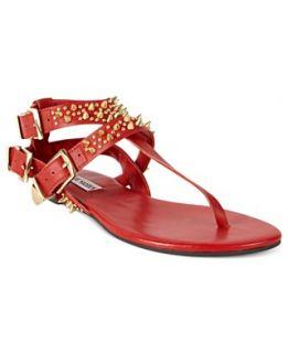 Steve Madden Womens Shoes, StudUp Thong Sandals