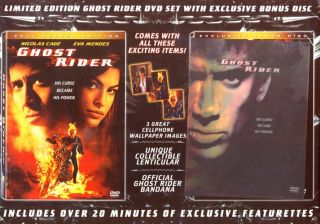 Ghost Rider Full Screen Edition Plus Exclusi New DVD