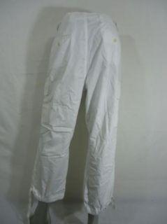 Ralph Lauren Marques Cargo Crop White 14W