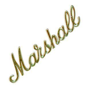 Marshall Amp Logo 6 Gold