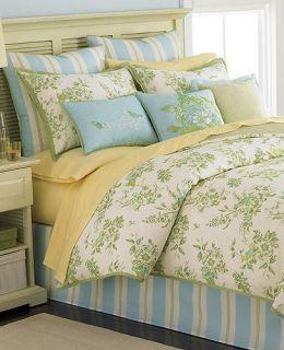 Martha Stewart Bluebird Gardens 4 Piece Twin Comforter Set
