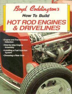 Boyd Coddingtons How to Build Hot Rod Engine ISBN 9780879387211