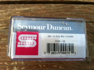 Seymour Duncan SM 1N Vintage Mini Humbucker Neck Electric Guitar