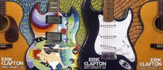 Eric Clapton Firehouse Madison Sq Garden 3 Posters 2006