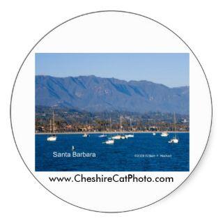 Santa Barbara Sailboats Products, California Stickers