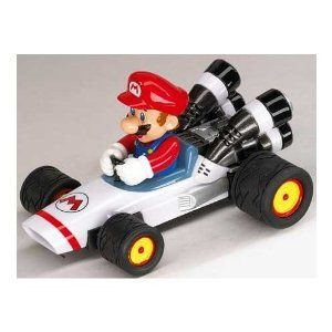 Mariokart DS Pull & Speed Super Mario Kart Pull and Speed Car Cart