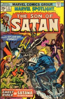 Marvel Spotlight 22 Son of Satan Ghost Rider Satana 9 4