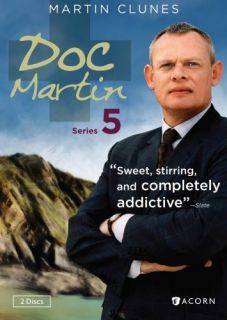 Doc Martin Series 5 New SEALED 2 DVD Set