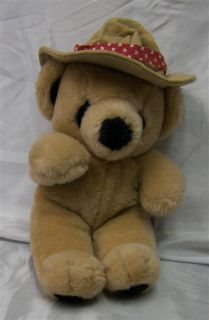 Cute Mary Meyer 14 Plush Soft Brown Canadian Mountie Bear