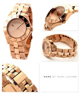 New Marc by Marc Jacobs Rose Gold Stainless Steel Blade Ladies Watch