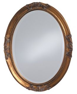 Howard Elliott Queen Ann Gold Leaf Mirror