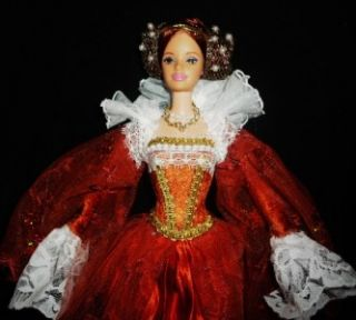 Mary Tudor Queen of France Henry VIII Sister OOAK Barbie Doll